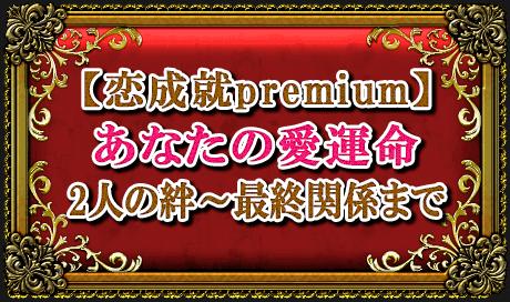 【恋成就premium】あなたの愛運命2人の絆~最終関係まで